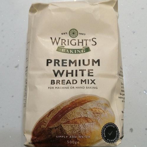Premium white bread mix wrights