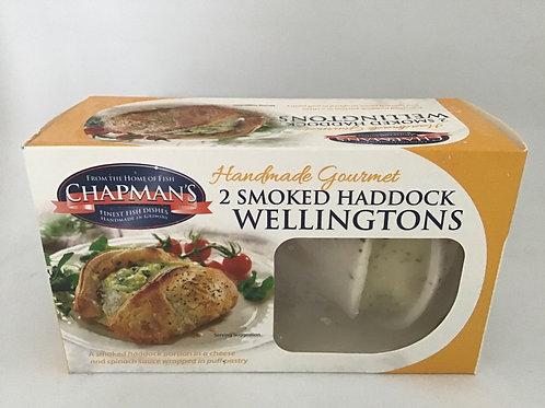 2 Smoked haddock Wellingtons