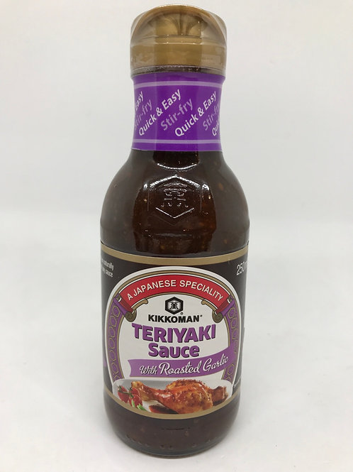 Teriyaki Sauce with Roast Garlic