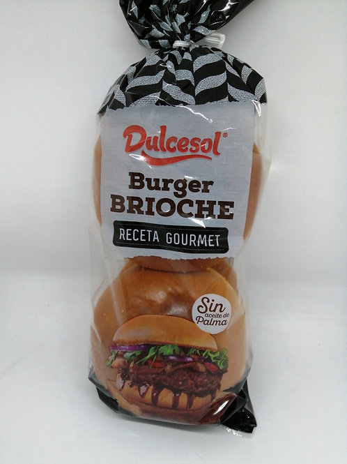 Burger brioche bun 4 pack