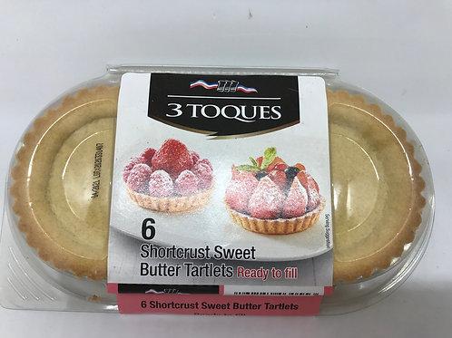 6 Shortcrust Sweet Butter Tartlet