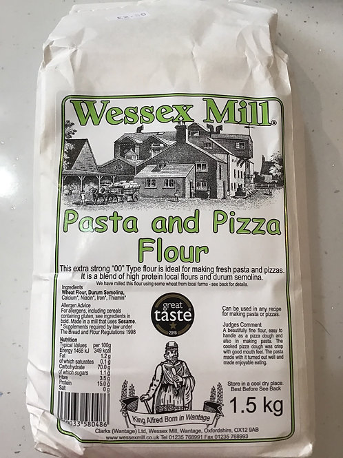Pasta and pizza flour
