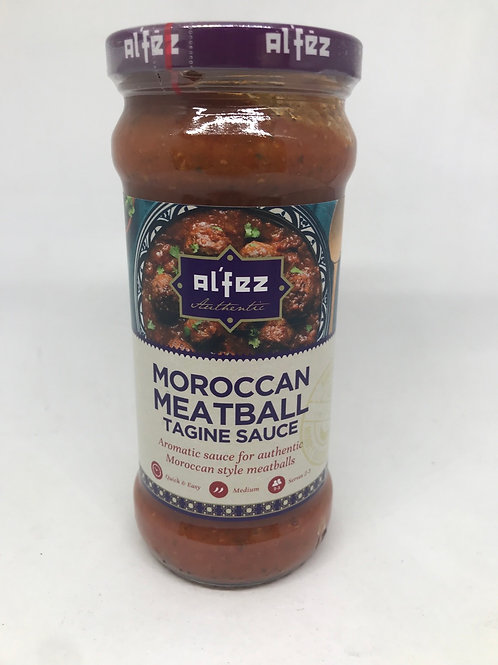 Moroccan Meatballs Tagine sauce