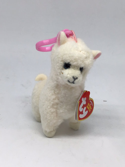 Lily the Alpaca Keyring