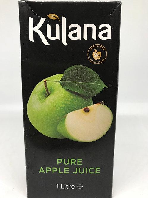 Kulana Pure Apple Juice 1LT