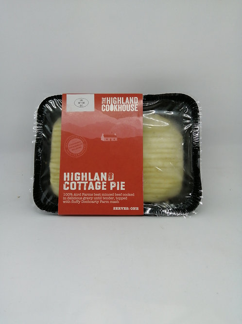 Highland Cookhouse cottage pie (serves one)