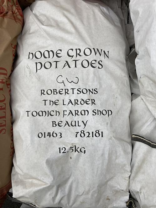 Homegrown Golden Wonder Potatoes - 12.5kg
