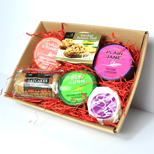 Cheese selection Hamper