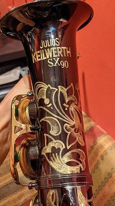 קלווארט אלט גרמני שחור SX90 עם מכניקה מוזהבת