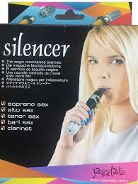 Silencer משתיק קול לפייה של סקסופון וקלרינט