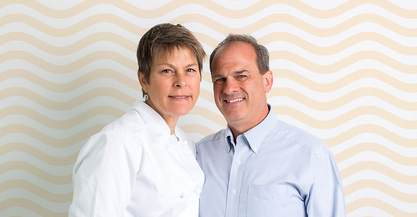 Pastry Chef Joan O'Connor and husband Tim O'Connor