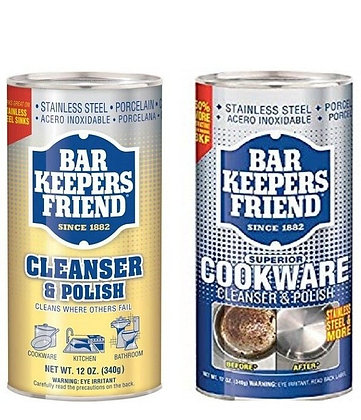 Bar Keepers Friend Cleanser & Polish Powder