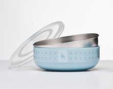 Kangovou Cereal Bowl - Frosted Blueberry