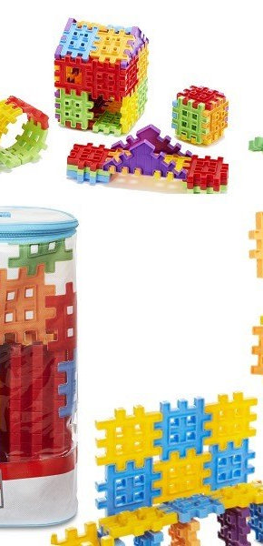 Little Tikes Waffle Blocks 100 pc Bag