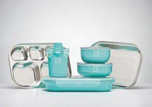 Kangovou Kids Dishware Set - Iced Mint