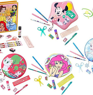 Disney Zip-Up Stationery Kit