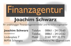 Finanzagentur Joachim Schwarz