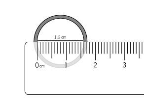 medida interna de um anel, método caseiro para medir anel, descobrir tamanho anel, anel, joia
