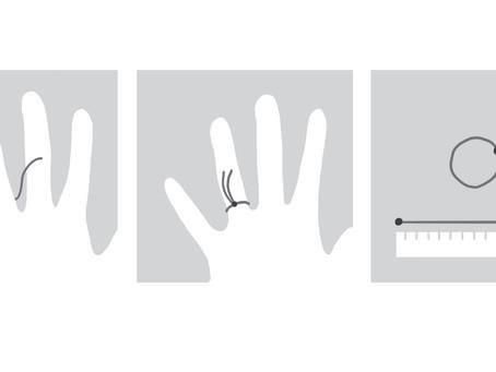 Como descobrir a medida do seu anel