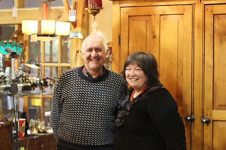 Christine Mould & Mick Mould -New Owners!