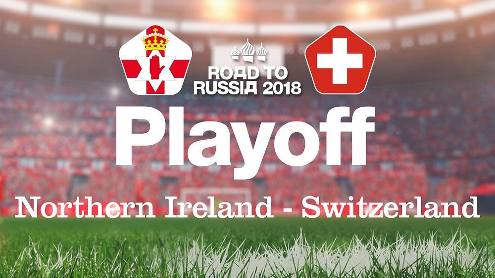 Playoff Northern Ireland - Switzerland