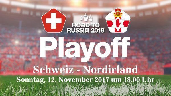 Playoff Schweiz vs Northern Ireland