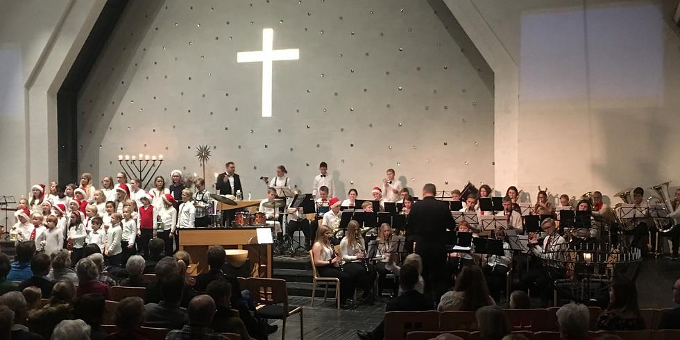 Julekonsert med Lommedalen skolekorps