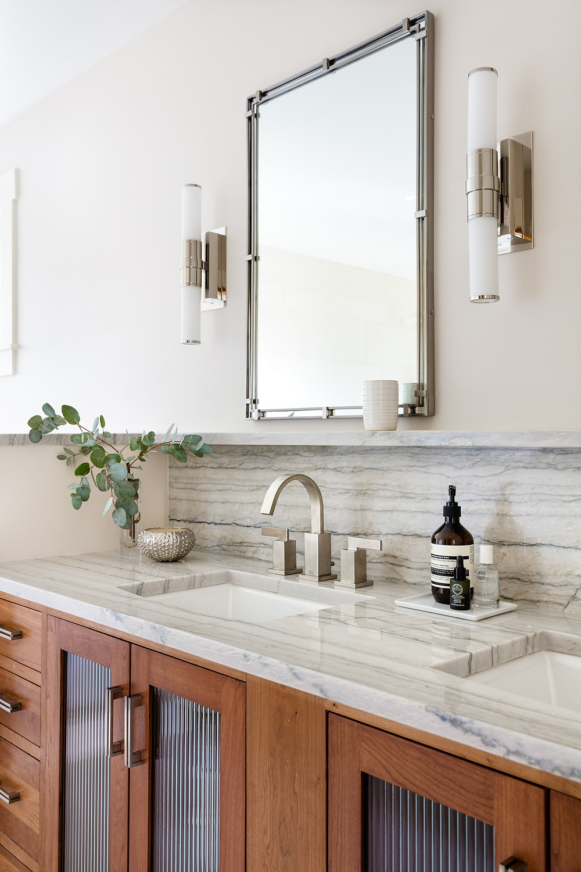 Seattle spa bath monochrome vanity