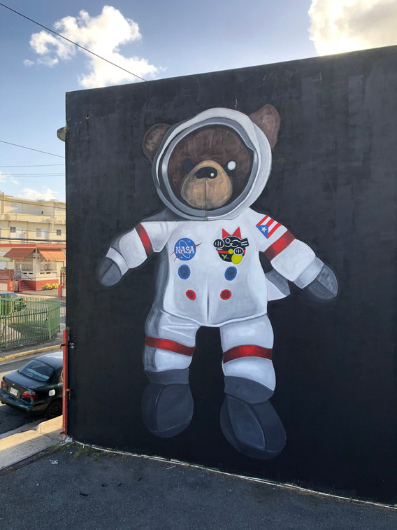 Space Teddy 2020