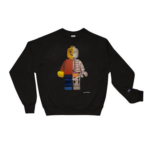 Lego Anatomy || Champion Long Sleeve Based on Original Painting