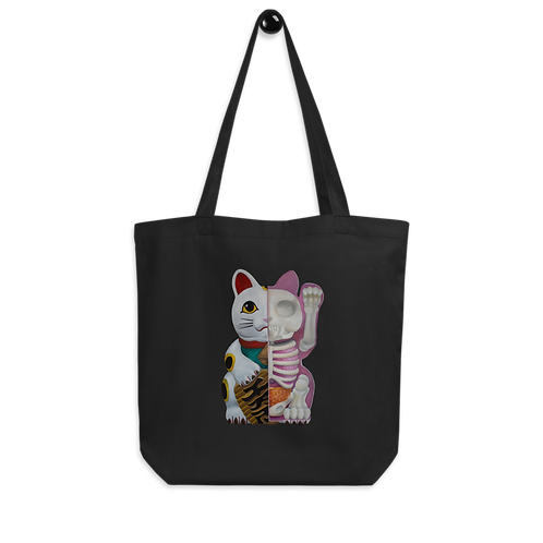 Lucky Cat Anatomy || Tote Bag Based on Original Painting