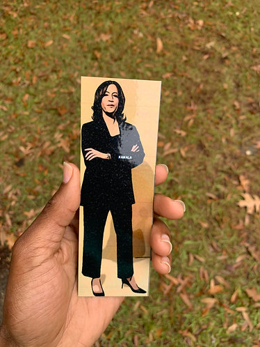 Kamala Harris: First Black Woman VP.