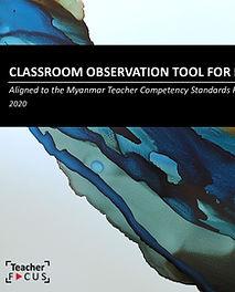 TeacherFOCUS Classroom Observation Tool