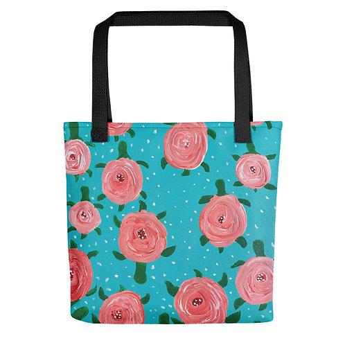 Turtle Blossom Tote bag