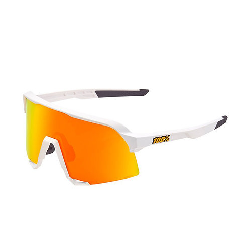 Ride 100% S3 Brille weiss/rot