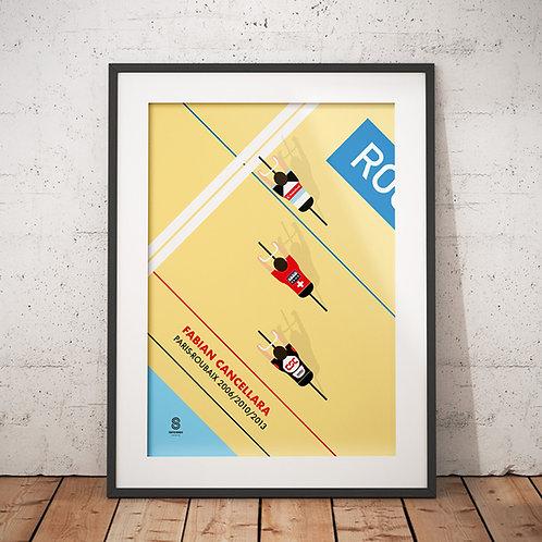 Retro Print «Roubaix»
