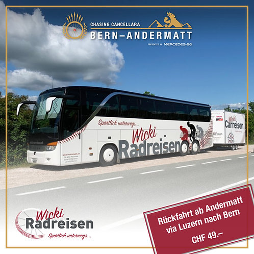 Bustransport Bern–Andermatt