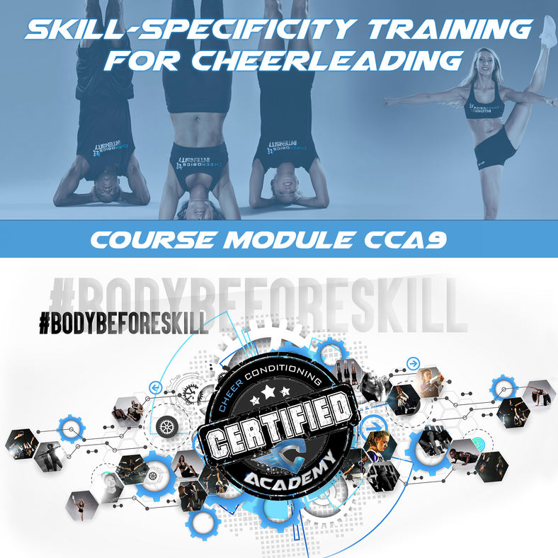 CCA9 | SKILL SPECIFICITY & DRILLS FOR CHEER COURSE