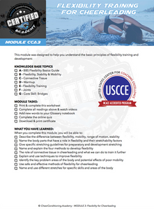 Flexibility Certification