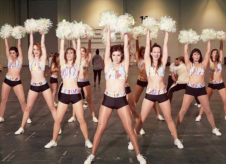 MOVE IT - ZR LONDON CHEERLEADERS