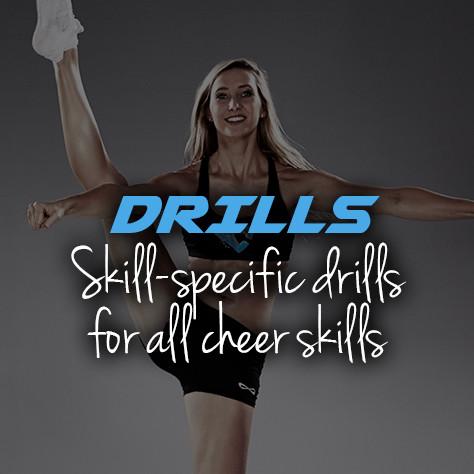 Cheerleading drills