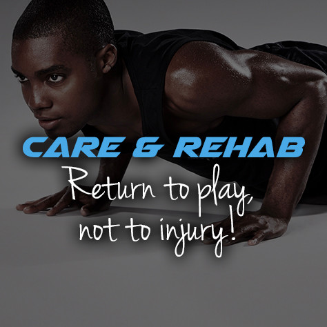 Cheerleading care rehab
