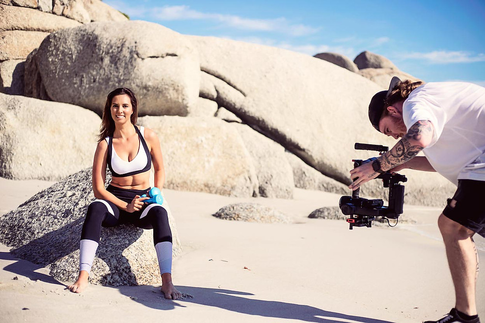 Filming for Online Fitness Classes
