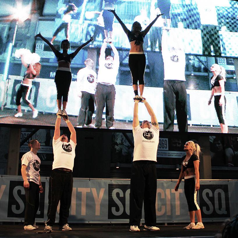London Cheerleaders