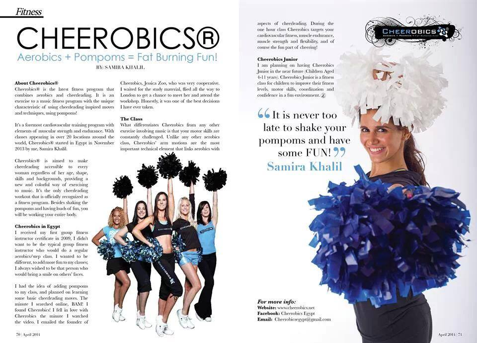 Egypt Cheerobics Press