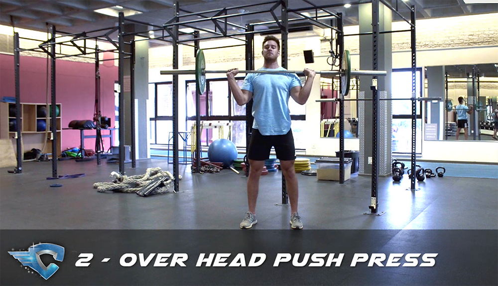 Male Cheerleader Conditioning Lifts