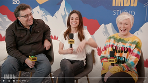 Mila Kunis is OBSESSED with Cheer! on Netflix - watch the IMDB interview