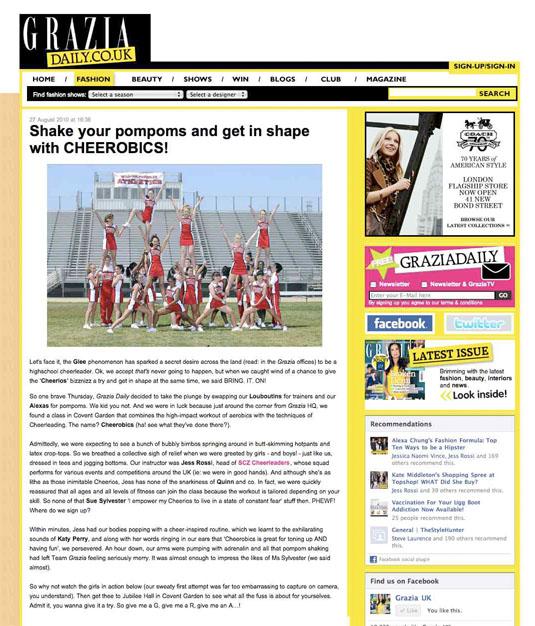 Grazia Daily 2012