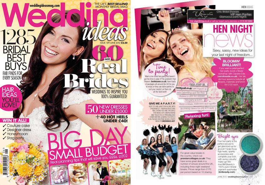 Wedding Ideas Magazine 2012
