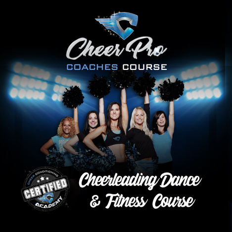 CHEER DANCE & FITNESS TRAINING COURSE